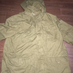 Old navy men's fatigue jacket